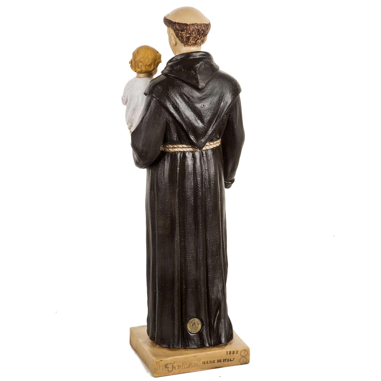 Saint Antoine de Padoue 50 cm résine Fontanini 4