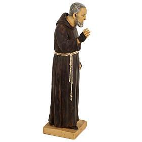 Imagem Padre Pio de Pietrelcina 50 cm resina Fontanini s3