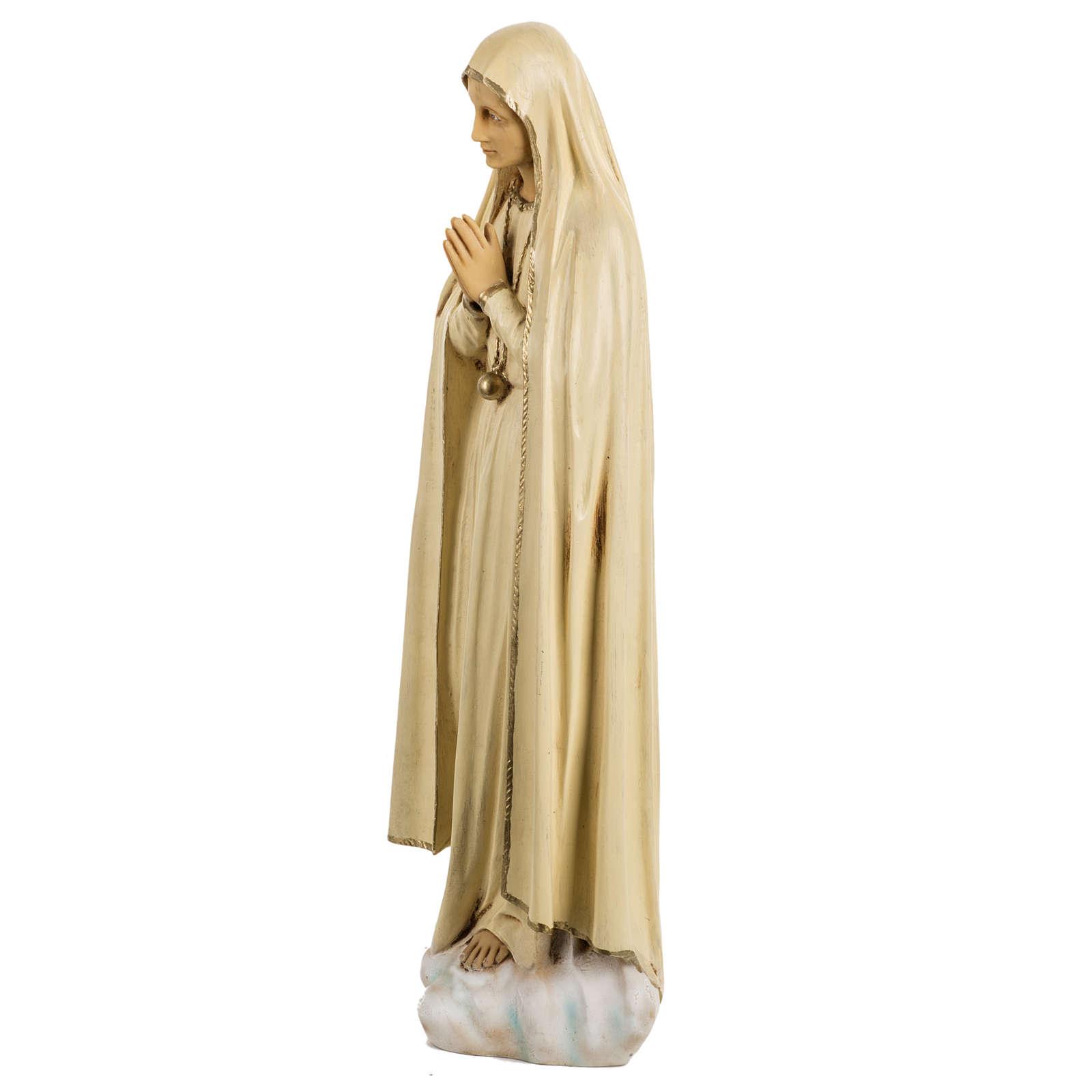 Statue Notre Dame de Fatima 50 cm résine Fontanini 4