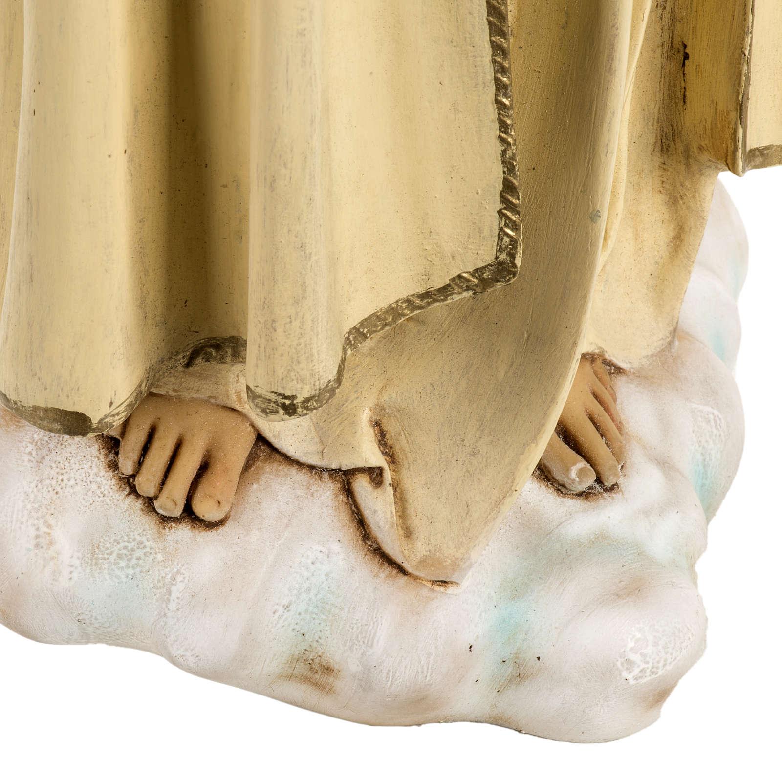 Statua Madonna di Fatima 50 cm resina Fontanini 4