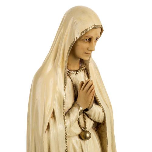 Statua Madonna di Fatima 50 cm resina Fontanini 2