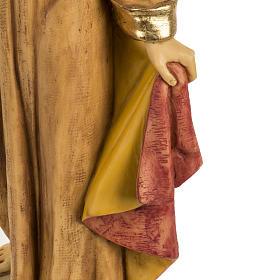 Statua Sacro Cuore di Gesù 50 cm resina Fontanini s3