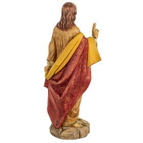 Statua Sacro Cuore di Gesù 50 cm resina Fontanini s6