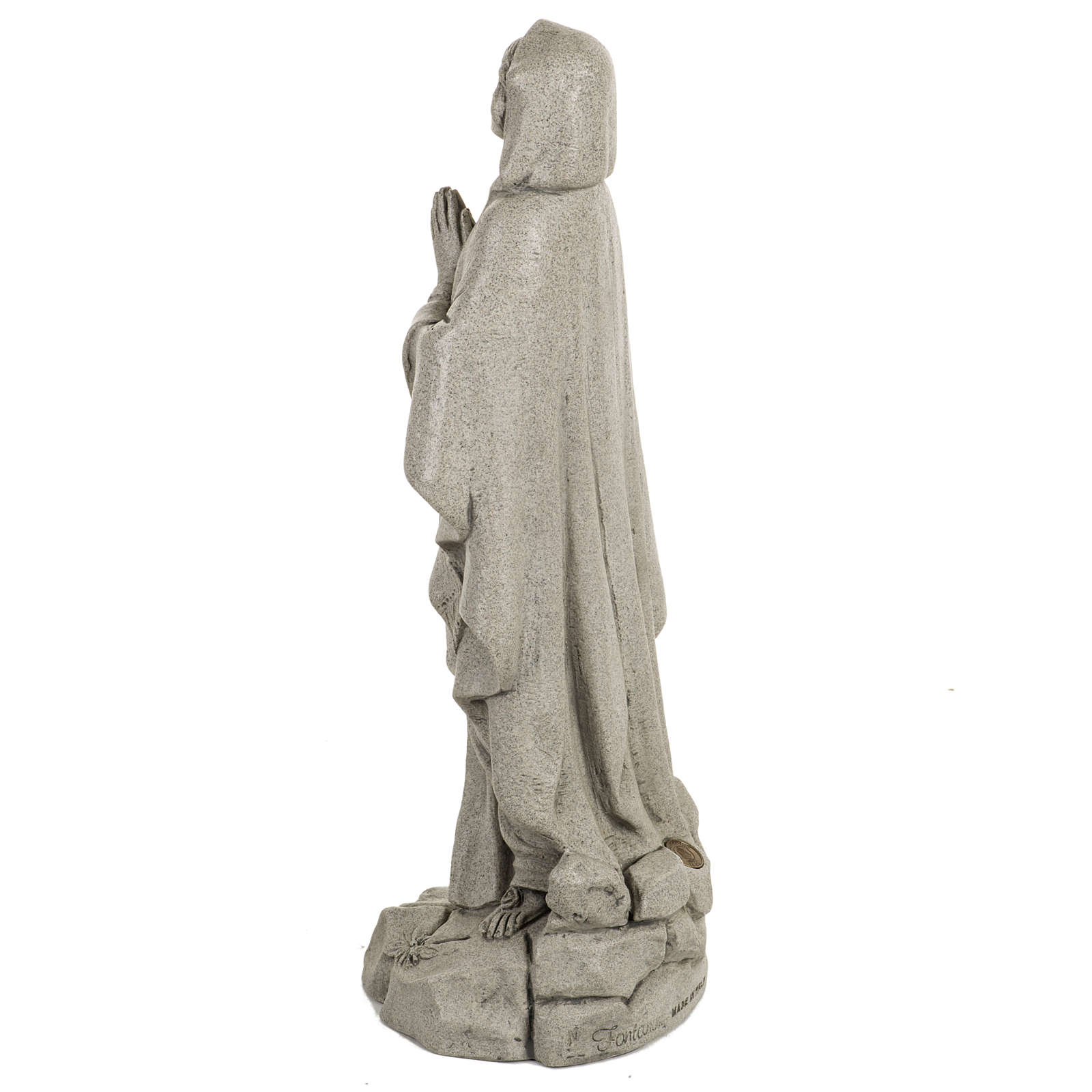 Notre Dame de Lourdes 50 cm résine Fontanini 4