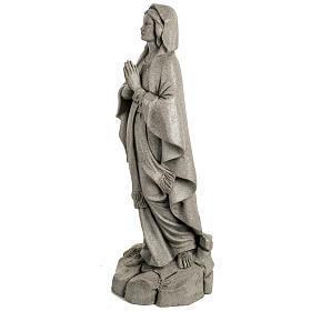 Notre Dame de Lourdes 50 cm résine Fontanini s4