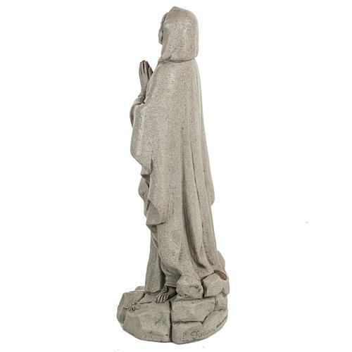 Notre Dame de Lourdes 50 cm résine Fontanini 5
