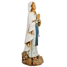Statue Notre Dame de Lourdes 50 cm résine Fontanini s4
