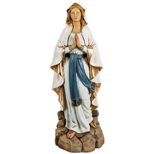Statue Notre Dame de Lourdes 50 cm résine Fontanini 1