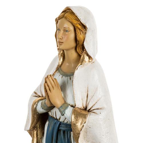 Statue Notre Dame de Lourdes 50 cm résine Fontanini 2
