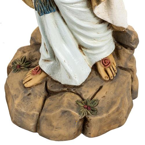 Statue Notre Dame de Lourdes 50 cm résine Fontanini 3
