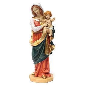 Imágenes de Resina y PVC: Virgen con el Niño 50 cm. resina Fontanini
