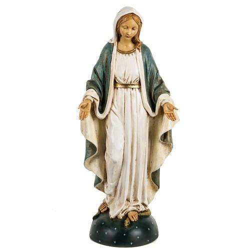 Statue Vierge Immaculée 50 cm résine Fontanini 1