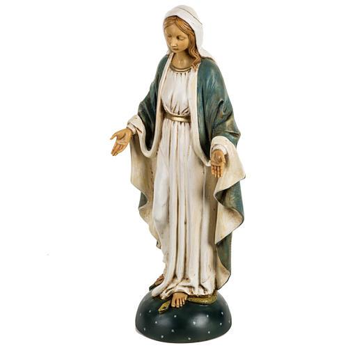 Statue Vierge Immaculée 50 cm résine Fontanini 2