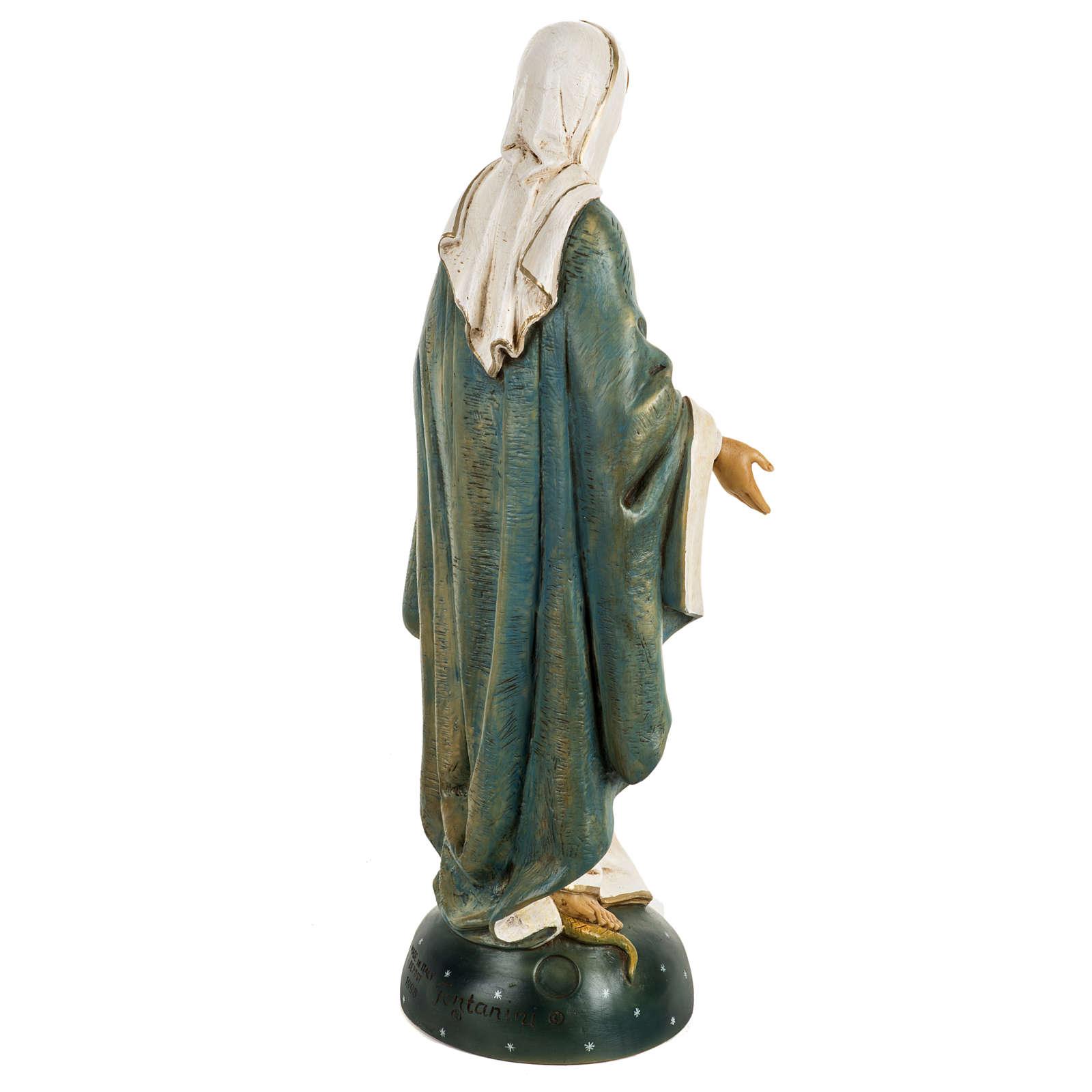 Statua Madonna Immacolata 50 cm resina Fontanini 4