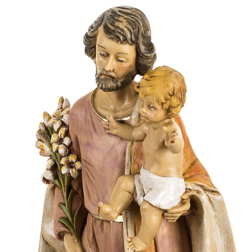 San José con Niño 50 cm. resina Fontanini 5