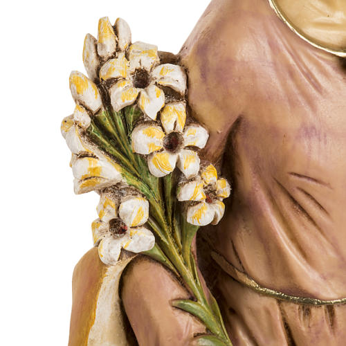 San Giuseppe con bambino 50 cm resina Fontanini 4
