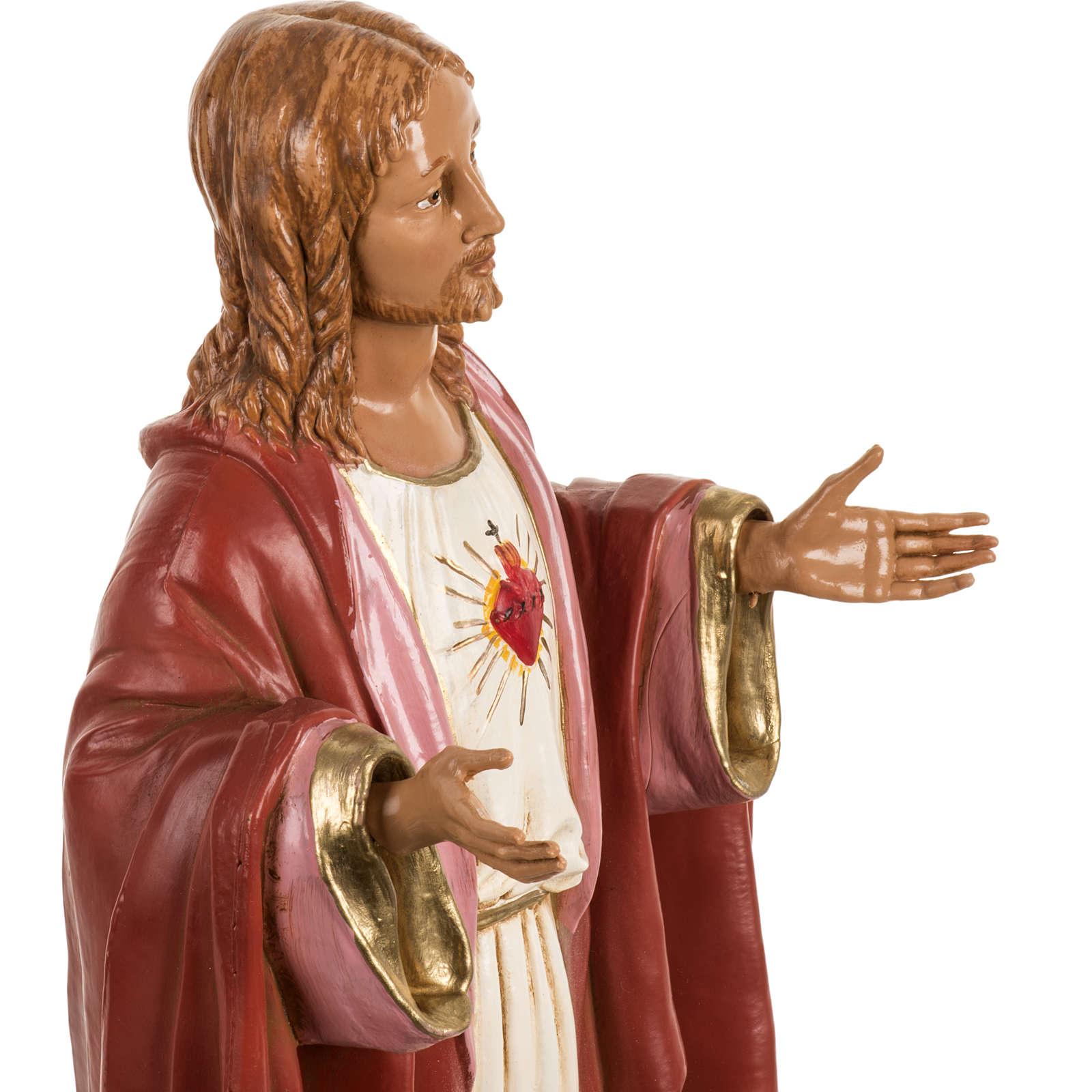 Sagrado Corazón de Jesús 40 cm. resina Fontanini 4