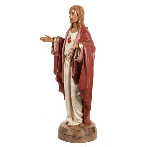 Sagrado Corazón de Jesús 40 cm. resina Fontanini 2