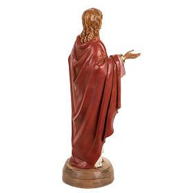 Sacro Cuore di Gesù 40 cm resina Fontanini s5
