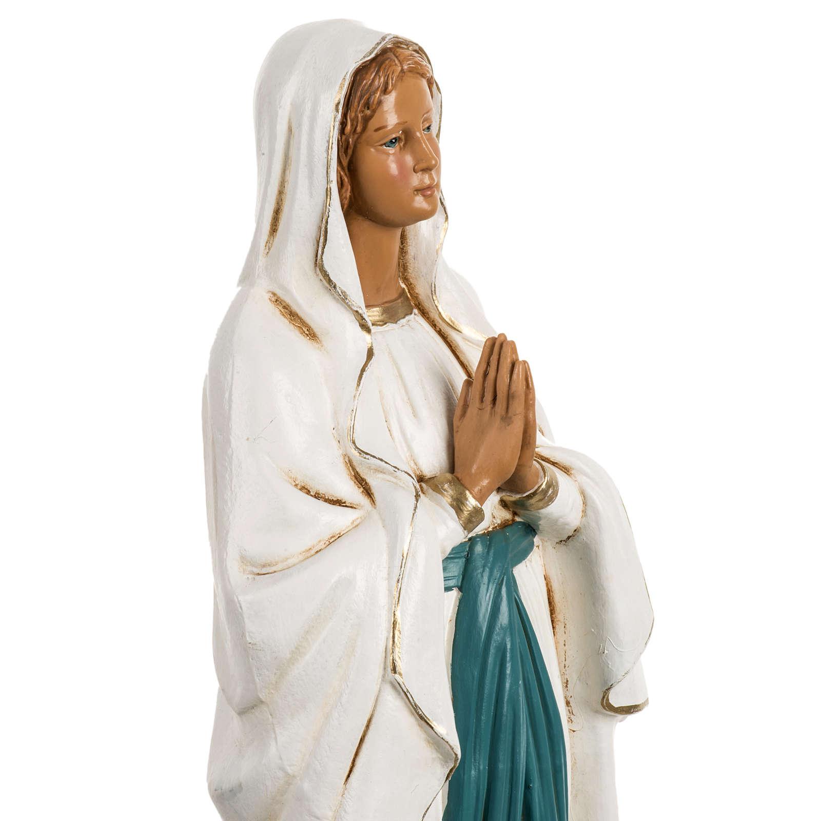 Notre Dame de Lourdes 40 cm résine Fontanini 4
