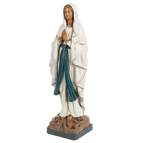 Madonna di Lourdes 40 cm resina Fontanini 2