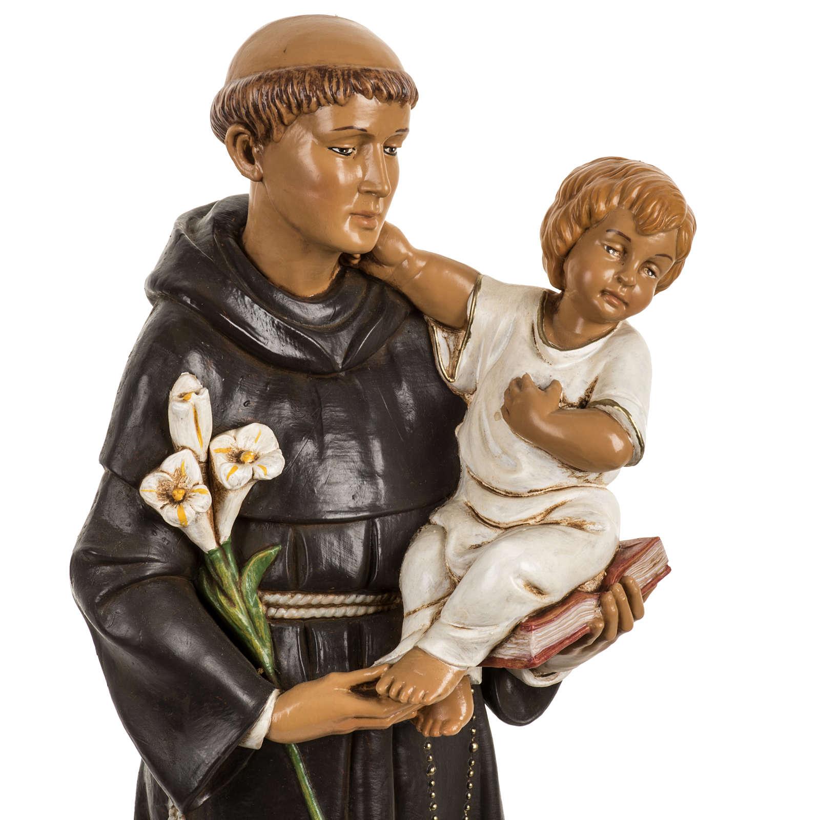 San Antonio de Padua 40 cm. estatua resina Fontanini 4