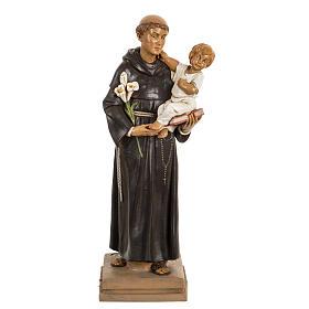 San Antonio de Padua 40 cm. estatua resina Fontanini s1