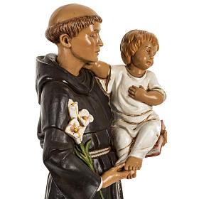 San Antonio de Padua 40 cm. estatua resina Fontanini s4