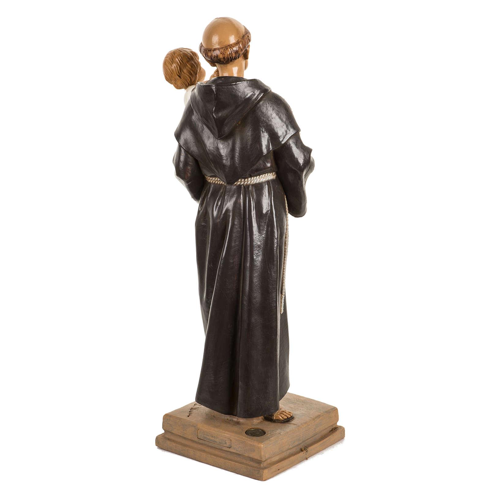 Sant'Antonio da Padova 40 cm resina Fontanini 4