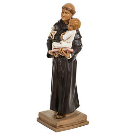 Sant'Antonio da Padova 40 cm resina Fontanini s3
