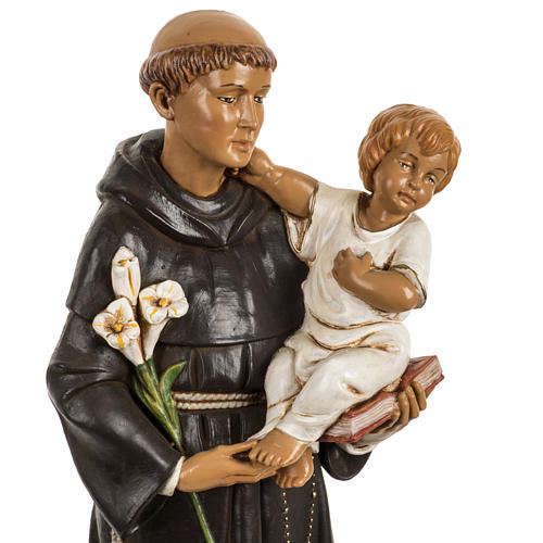 Sant'Antonio da Padova 40 cm resina Fontanini 2