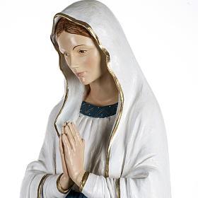 Notre Dame de Lourdes 170 cm résine Fontanini s4