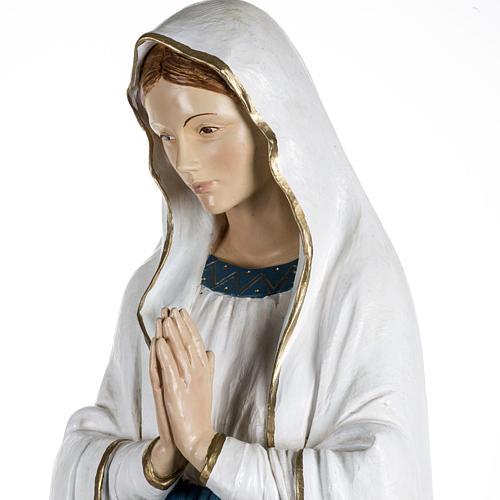 Notre Dame de Lourdes 170 cm résine Fontanini 4