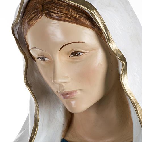 Notre Dame de Lourdes 170 cm résine Fontanini 5