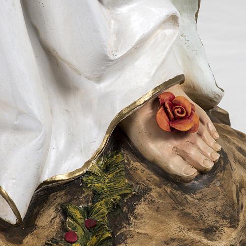 Notre Dame de Lourdes 170 cm résine Fontanini 6
