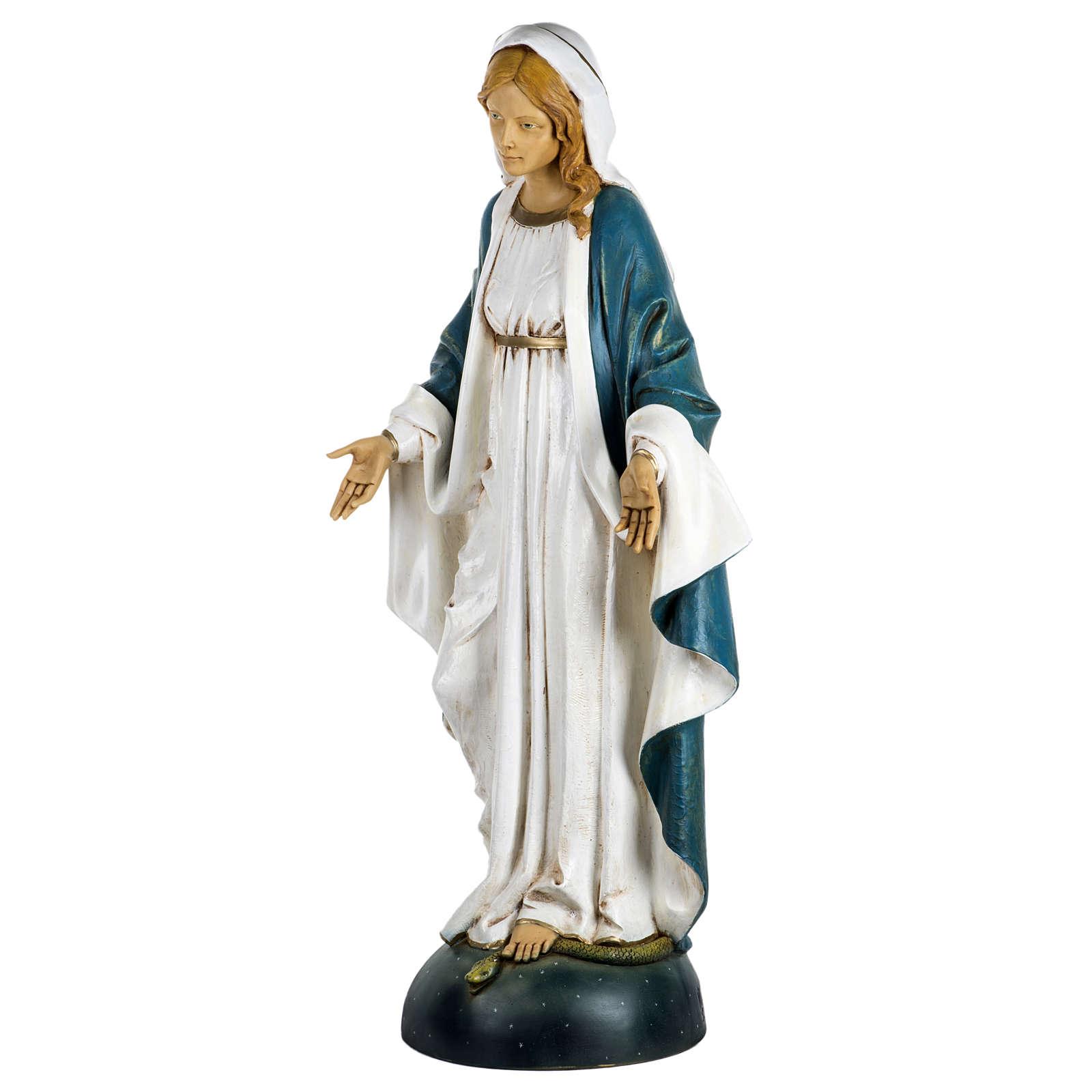 Statue Vierge Immaculée 100 cm résine Fontanini 4