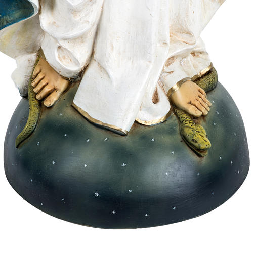 Statue Vierge Immaculée 100 cm résine Fontanini 3