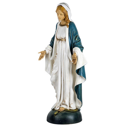Statue Vierge Immaculée 100 cm résine Fontanini 5