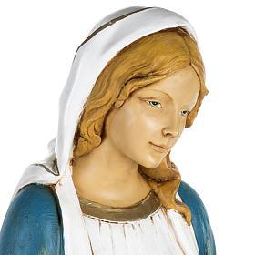 Statua Madonna Immacolata 100 cm resina Fontanini s2