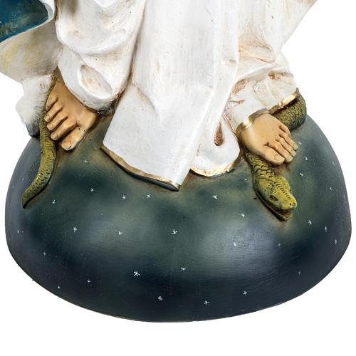 Statua Madonna Immacolata 100 cm resina Fontanini 3