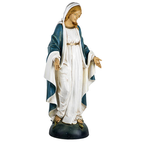 Statua Madonna Immacolata 100 cm resina Fontanini 4