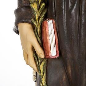 Statue Antonius von Padua aus Harz 100cm, Fontanini s3