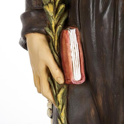 Statue Antonius von Padua aus Harz 100cm, Fontanini 3