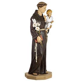 Statue St Antoine de Padoue 100 cm résine Fontanini s4