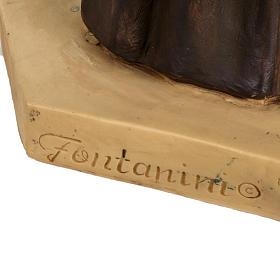 Statue St Antoine de Padoue 100 cm résine Fontanini s7