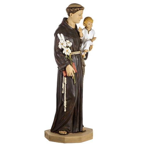 Statue St Antoine de Padoue 100 cm résine Fontanini 4