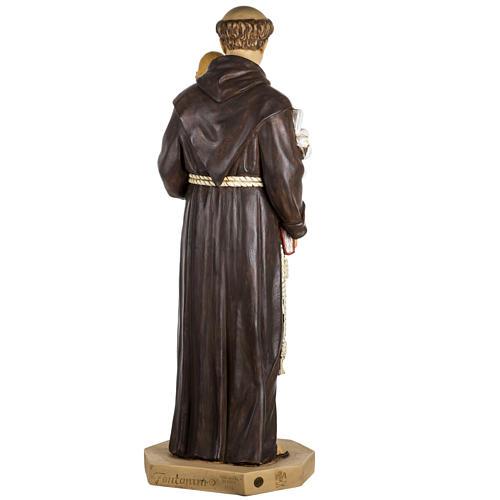 Statue St Antoine de Padoue 100 cm résine Fontanini 8