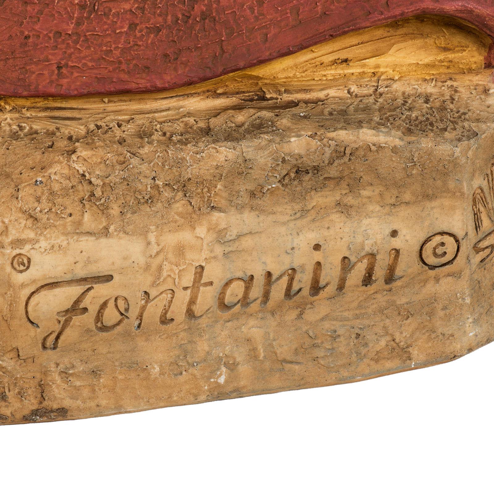 Sagrado Corazón de Jesús 100 cm. resina Fontanini 4