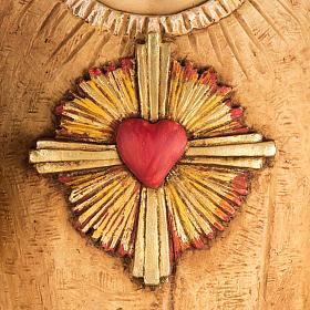 Sacro Cuore di Gesù 100 cm resina Fontanini s2