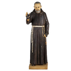 Statua Padre Pio 100 cm resina Fontanini s1